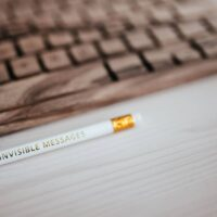 kaboompics_For-invisible-messages-pencil
